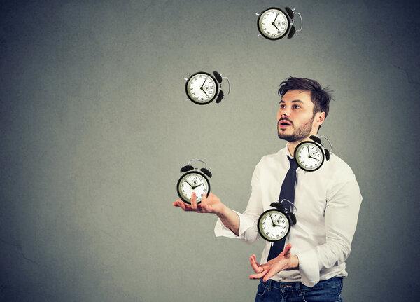 Planera tiden vid distansarbete.